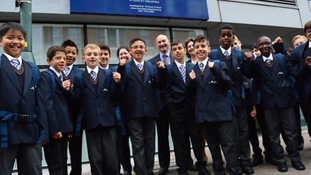 Marylebone Boys' School opened last month in the former campus