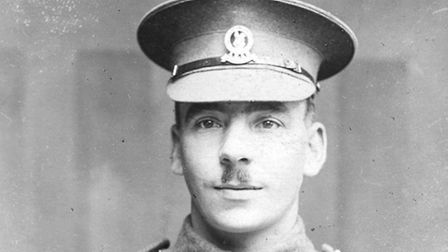 Charles Galforth with VC Post