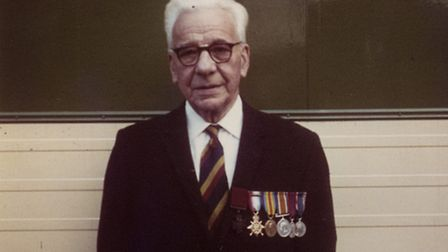 Corporal Galforth in his later years