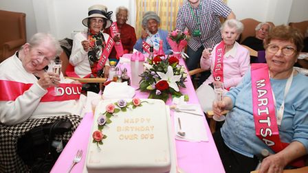 A special over 90s birthday party� took place at the Alsen Day Centre