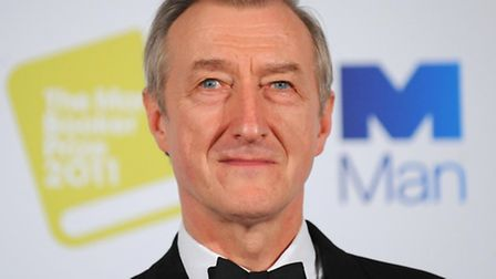 Charity patron Julian Barnes as he is announced as the winner of the Man Booker prize in 2011
