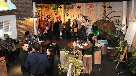 The Greenhouse hosted an indoor autumn market earlier this month. Pic: Dieter Perry