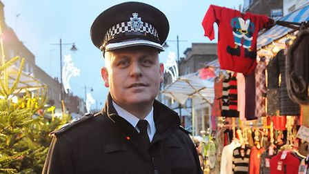 """Det Sup Gerry Campbell: """"we need to and want to do more"""" Pic: Dieter Perry"""