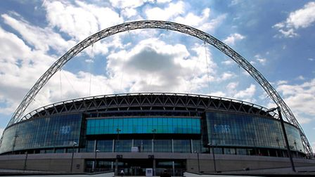 Wembley Stadium is in Engineer's Way (Pic credit: PA)
