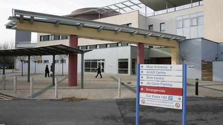 Central Middlesex Hospital has lost its maternity and A&E services