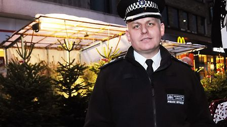 Islington's Borough Commander Gerry Campbell Pic: Dieter Perry