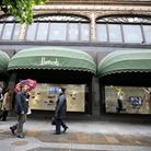 A general view of the Harrods department store in London. Photo: Steve Parsons/PA Wire