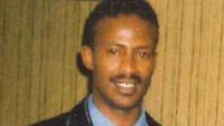 Omer Jama Abdi died in the early hours of St Valentine's Day