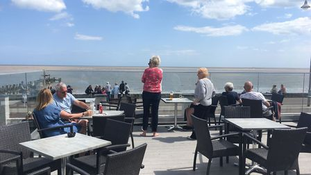 Hatfield Hotel on Lowestoft seafront has opened LT1, its brand new fish and chip restaurant. Picture