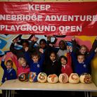 Young users showcased their arts and craft skills to raise profile to the campaign