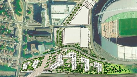 Quintain are consulting on the South West Lands site