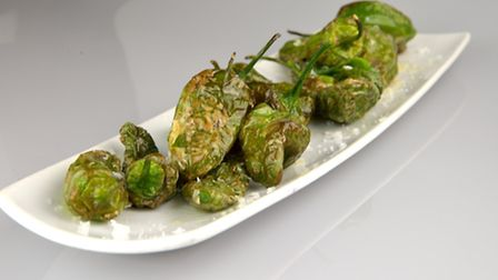 Pimientos de Padron - lovely little mouthfuls