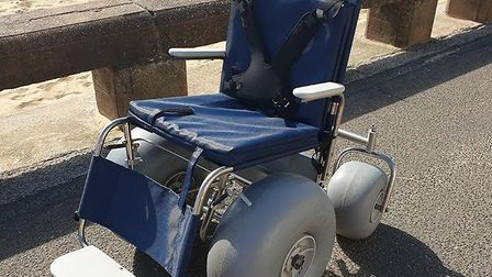 Sentinel Leisure Trust has invested more than £7,000 to provide two beach wheelchairs, which can be