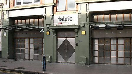 Fabric club in Charterhouse Street
