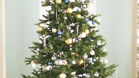 Send or post pics of your decorated Christmas tree and you could feature in the paper. Pic: PA