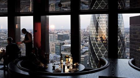 City Social: both the food and the view are equally breath-taking