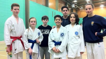 The Veras Academy youngsters who trained with the England squad