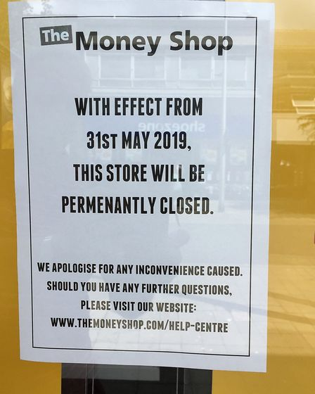 The Money Shop in Lowestoft has closed its doors for the final time. Pictures: Mick Howes