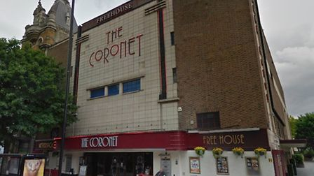 The Coronet, in Holloway Road Pic: Google maps