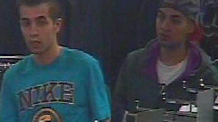 These pair of men are wanted in connection with a shoplifting incident in Primark in Wembley High Ro