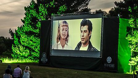 Pop Up Pictures will bring The Great Outdoor Cinema Club to Lowestoft. Picture: Music Art Study