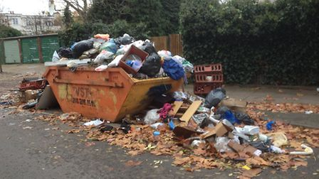 Illegal skip company operating in Brent
