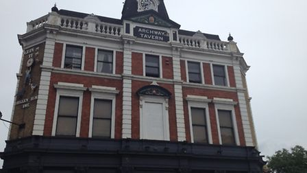The assault took place outside the Archway Tavern between 3.30am and 4.15am
