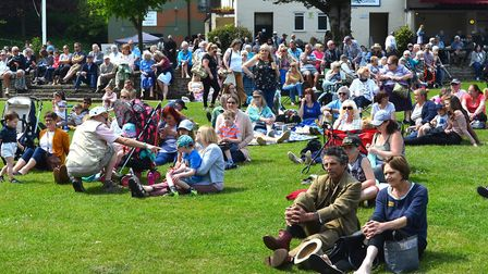 Crowds of people descended on Sparrows Nest park in Lowestoft for an event last year - and it is hop