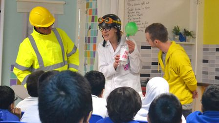Youngsters in Islington learn about the dangers of gas