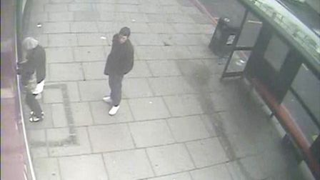 This CCTV image captures the last sighting of Mr Duff in Holloway Road