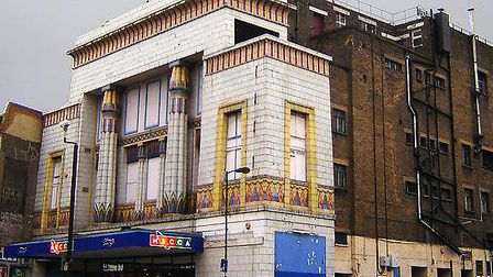 The old Carlton Cinema, on Essex Road
