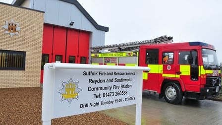 The Reydon and Southwold community fire station. Picture: Nick Butcher