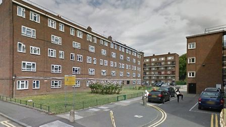 Ngoc Giam Dang, 74, was killed on the Geffrye Estate, Hoxton (Pic: Google Street View)