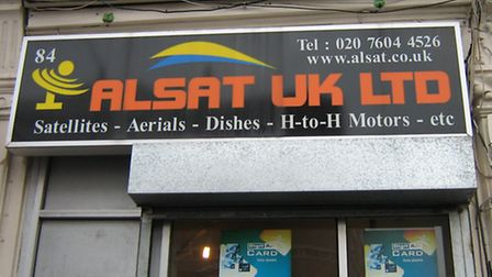 Alsat UK was based in Willesden (Pic credit: Brent Council)