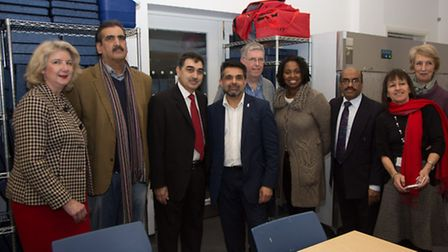 Official opening of our Assessment Centre at Ashford Place CEO Danny Maher with Cllr Muhammed Butt,