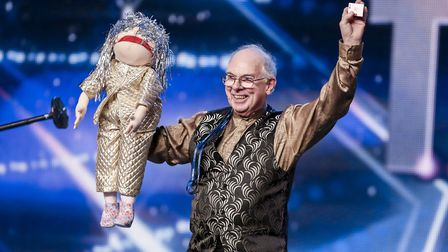 Jeff Drayton, from Hopton-on-Sea, made the Britain's Got Talent sem-finals in 2015. Picture: Tom Dym
