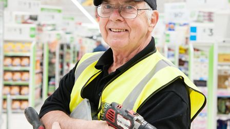Jeff Drayton became a father figure to Lowestoft Asda colleague Bev Shipp after her father and stepf