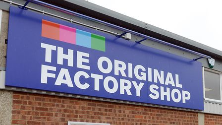 The Original Factory Shop had been due to move into the shop space vacated by Kerrys in Lowestoft. P