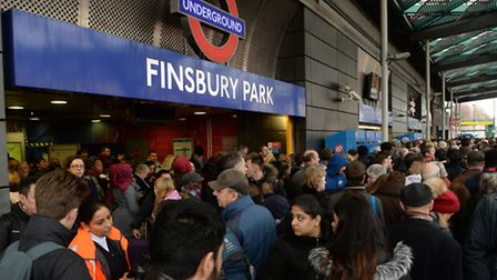 The transport secretary has apologised over the Christmas travel chaos at Finsbury Park Station. Pic