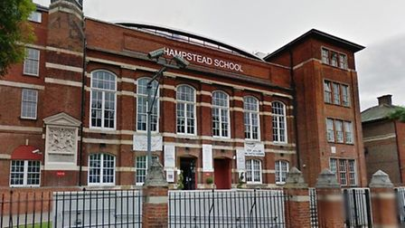 Menelaos Aligizakis previously taught at Hampstead School in Westbere Road (Pic credit: Google stree