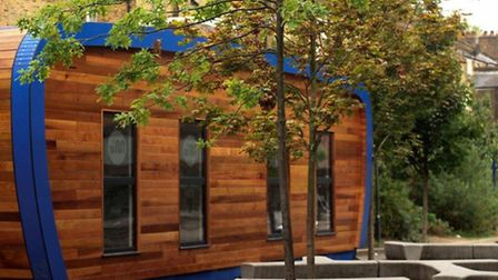One of the proposed 'eco-pod' classrooms