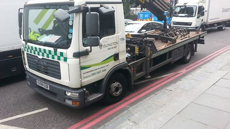 One rule for them: Islington Council vehicles parking in prohibited spots has angered motorists