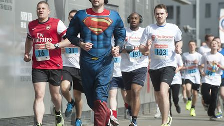 Hundreds took part in last year's event, many in zany costumes. Pic: Alan Walter