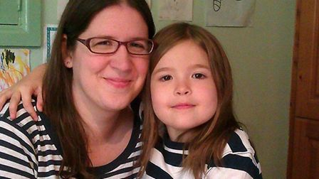 Compassionate: Jane Laking with daughter Rebecca