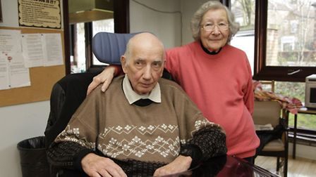 Millenium Day Care Centre Blind, Deaf and paralysed Brian Broward and wife Valerie Broward