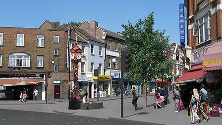 The clock will be returning to Harlesden next month