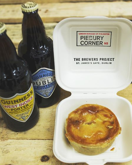 Two new Guinness porter ales and one of Piebury Corner's new creations