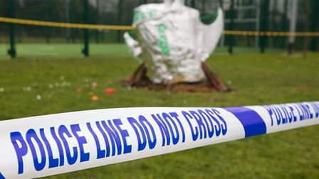 Police have come to St Mary's, Garnet Road, asking children to investigate the strange appearance of