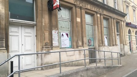 The former Post Office in London Road North, Lowestoft, has been empty since last year. Picture: Arc