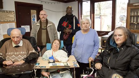 Winners: Members of the New Millenium Day Care Centre Committee